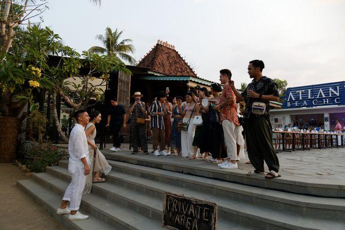 Ayla Dimitri & Rama Wedding at Atlantis Beach Club by Plataran Indonesia - 004