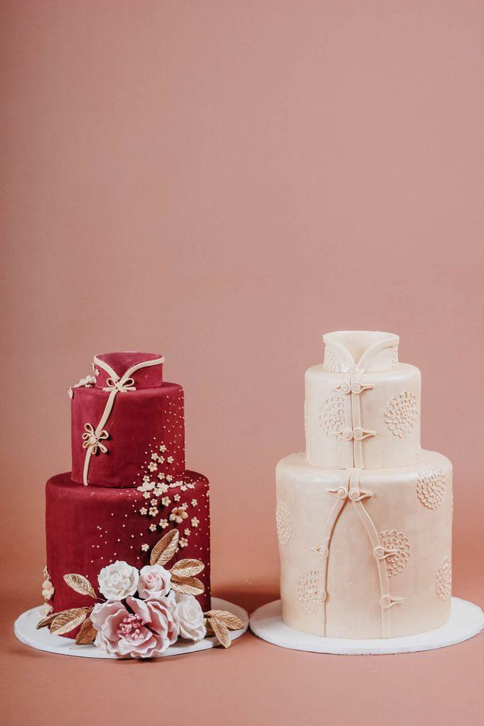 Sangjit and Engagement by Gordon Blue Cake - 006