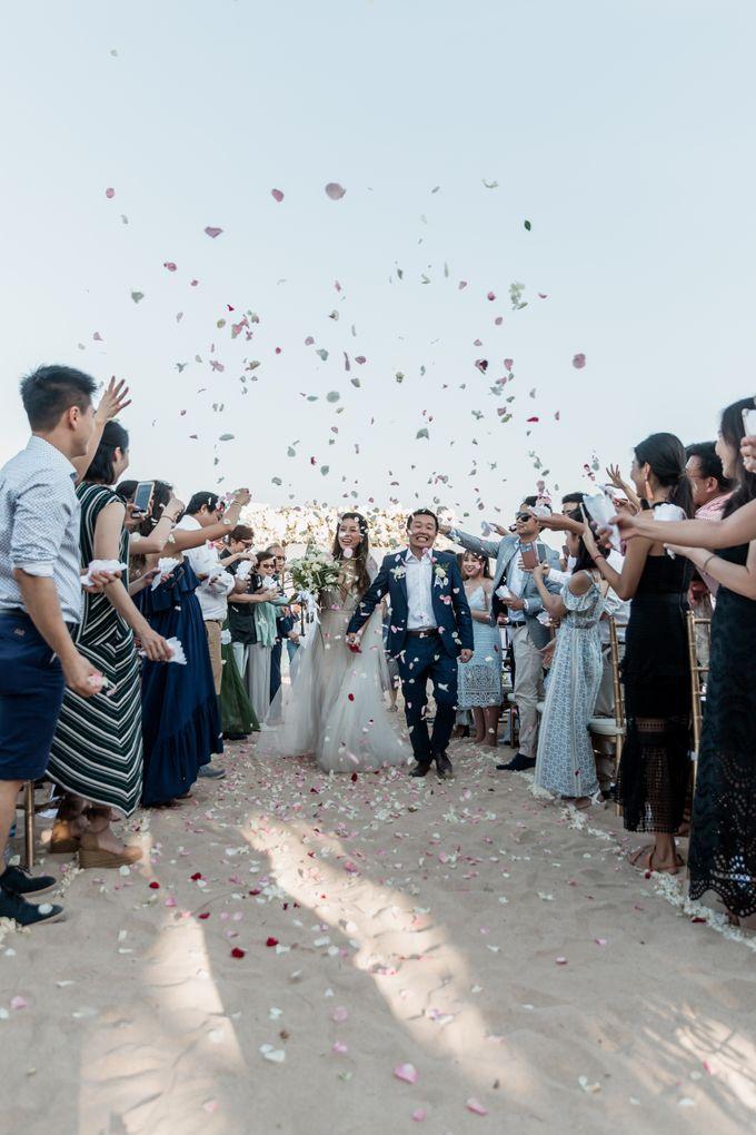 Beautiful Seashore Wedding of Loretta & Felix by Silverdust Decoration - 001