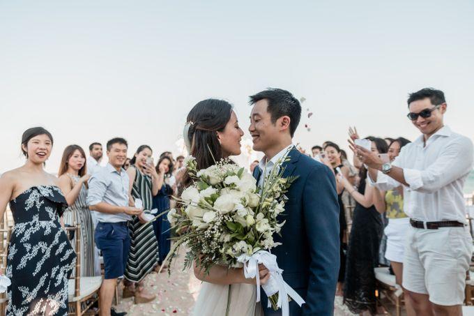 Beautiful Seashore Wedding of Loretta & Felix by Silverdust Decoration - 035