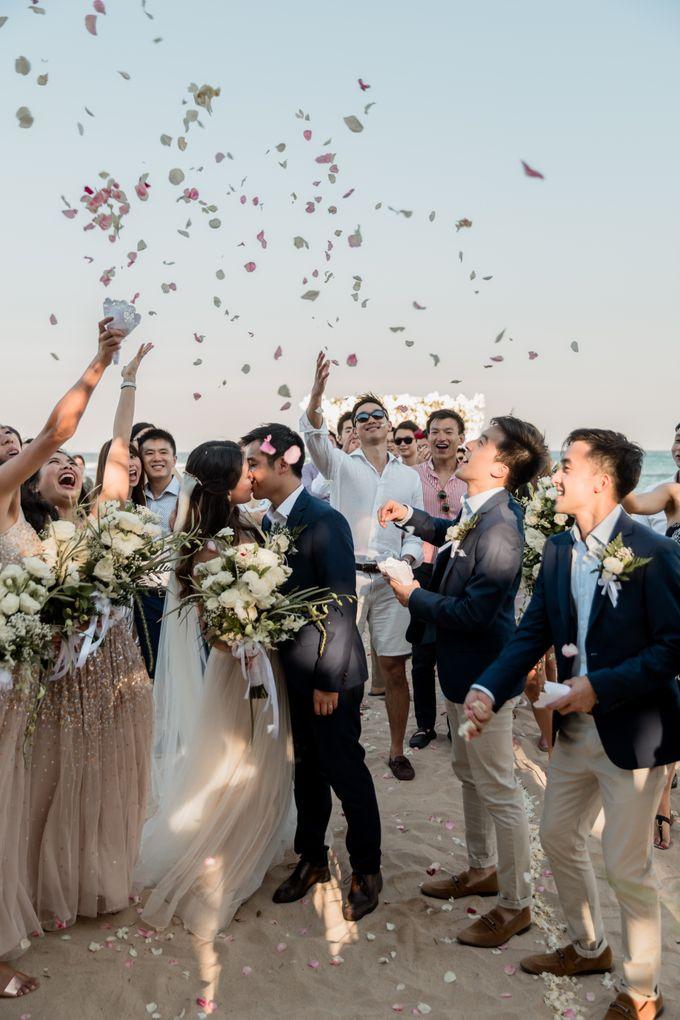 Beautiful Seashore Wedding of Loretta & Felix by Silverdust Decoration - 031
