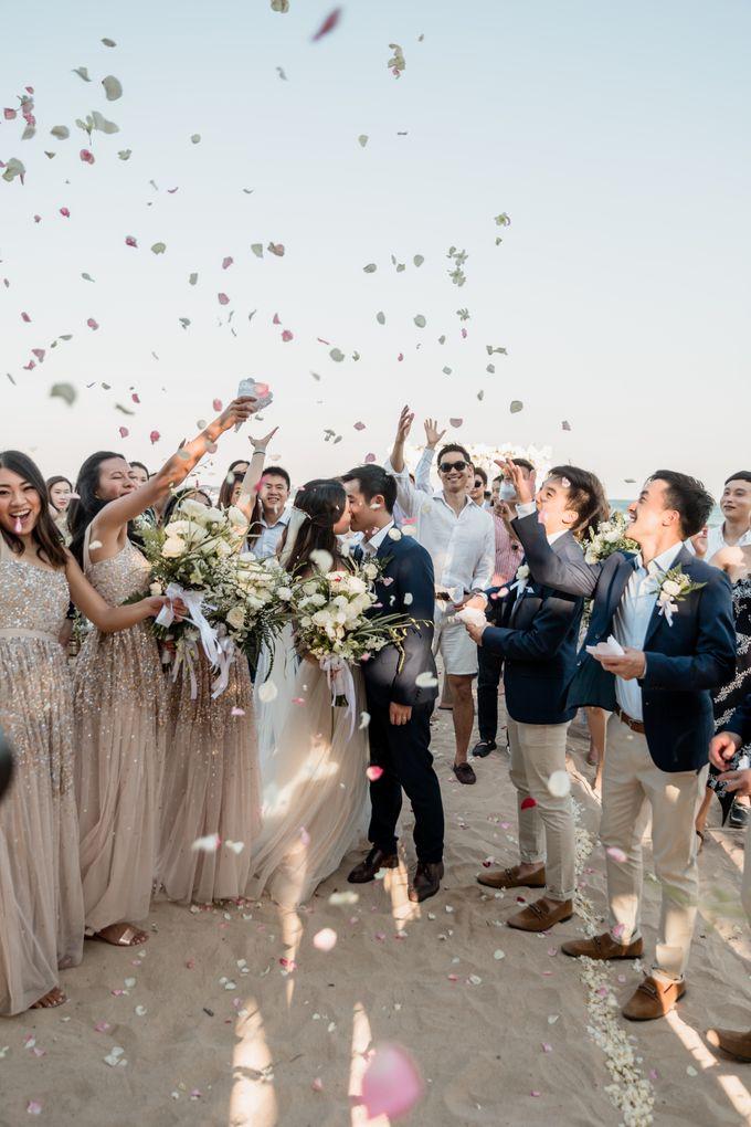 Beautiful Seashore Wedding of Loretta & Felix by Silverdust Decoration - 032