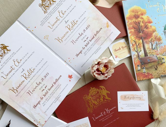 Autumn Story by Trouvaille Invitation - 001