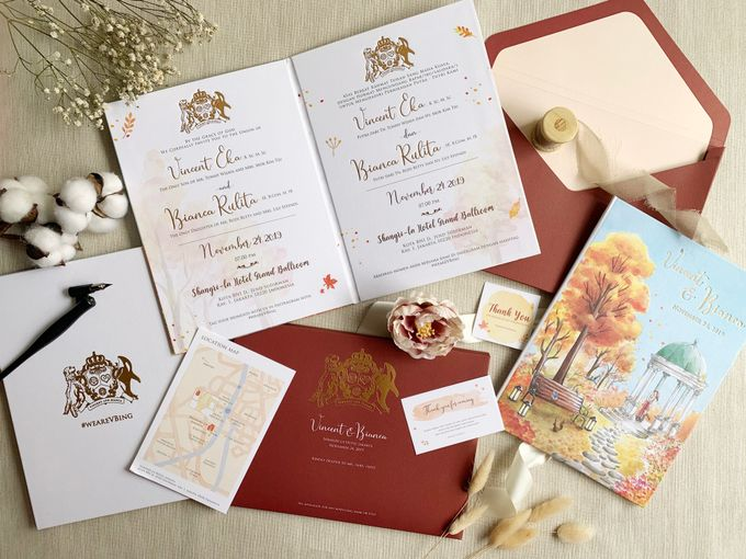 Autumn Story by Trouvaille Invitation - 003