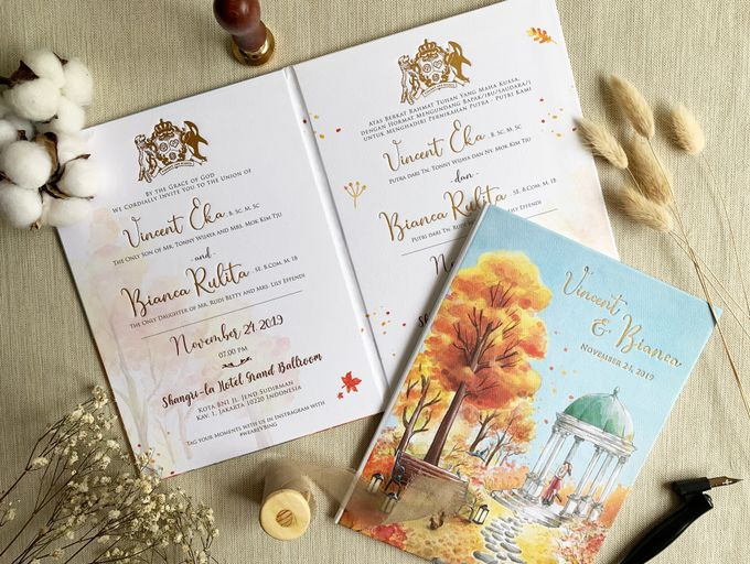 Autumn Story by Trouvaille Invitation - 004
