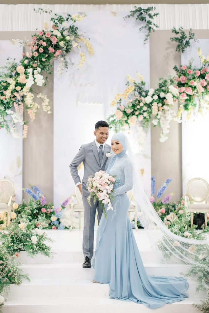 The Wedding of Novi and Rion by Kate Bridal and Couture - 006