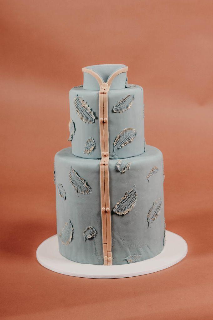 Sangjit and Engagement by Gordon Blue Cake - 011