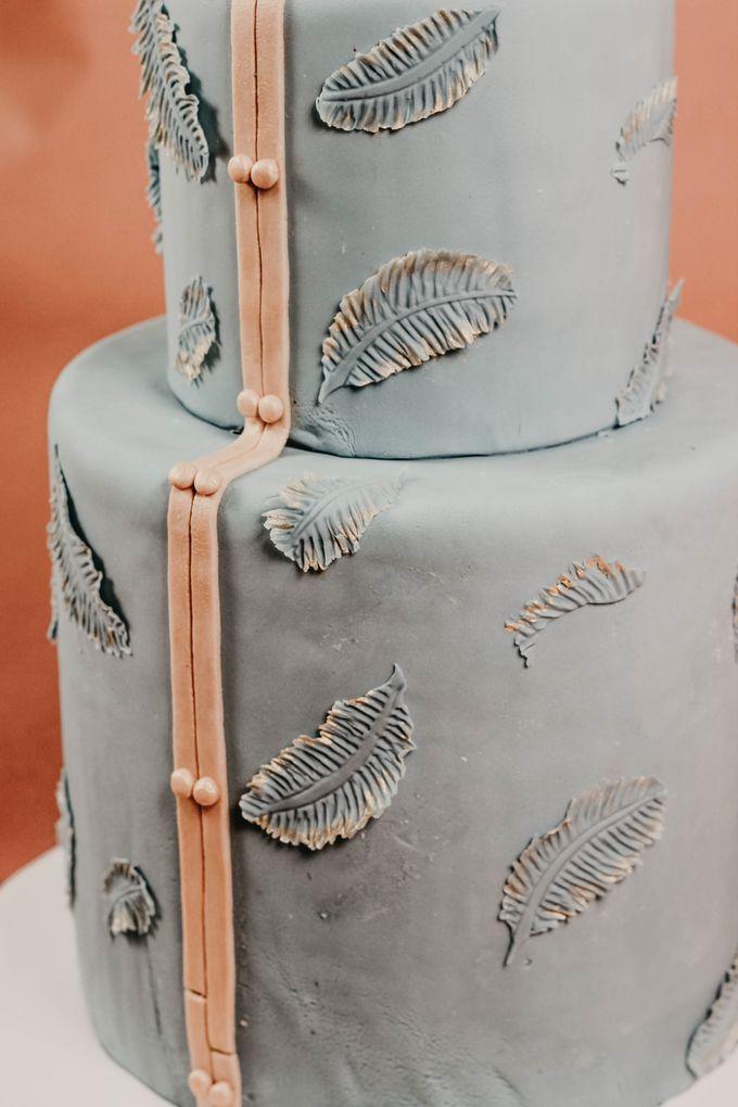 Sangjit and Engagement by Gordon Blue Cake - 012