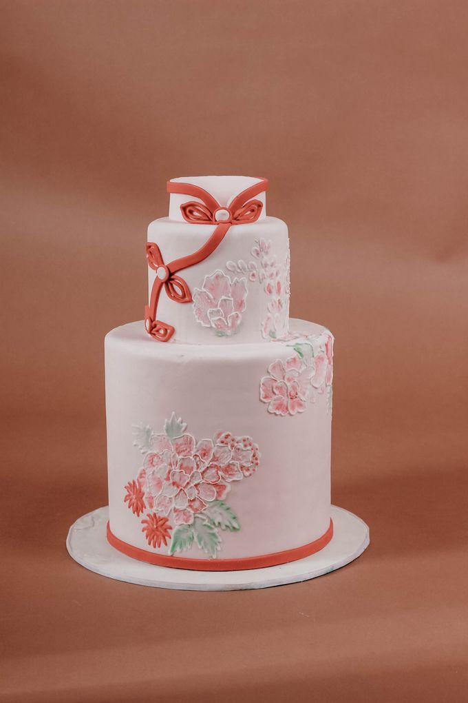 Sangjit and Engagement by Gordon Blue Cake - 013