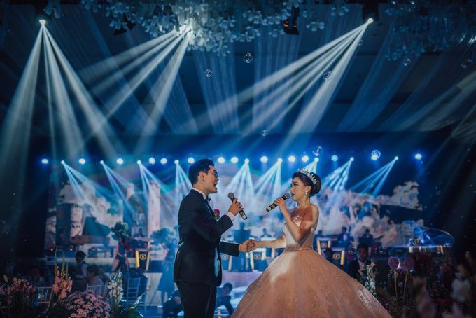 lighting wedding by FLAT PRODUCTION - 007
