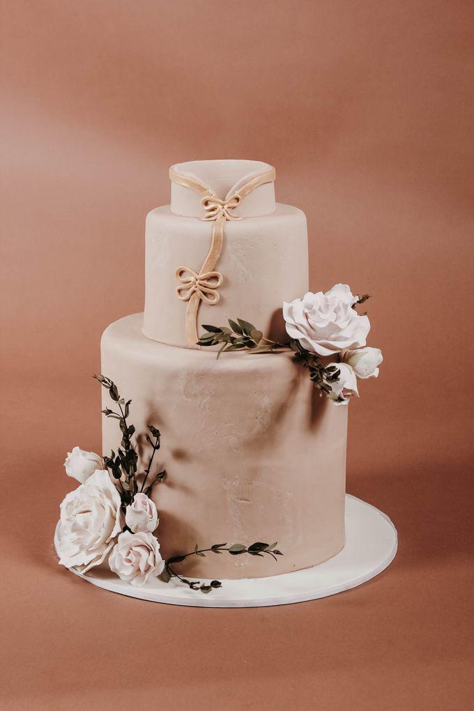 Sangjit and Engagement by Gordon Blue Cake - 015