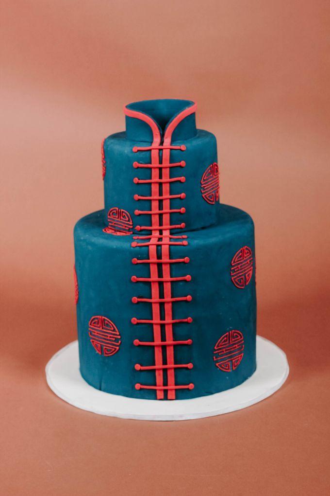 Sangjit and Engagement by Gordon Blue Cake - 017