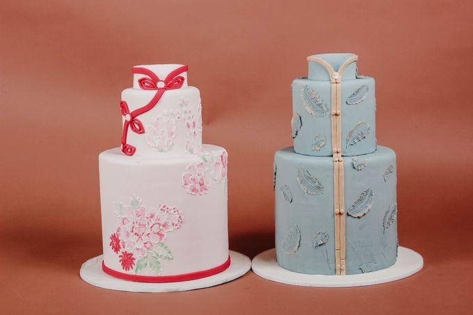 Sangjit and Engagement by Gordon Blue Cake - 020