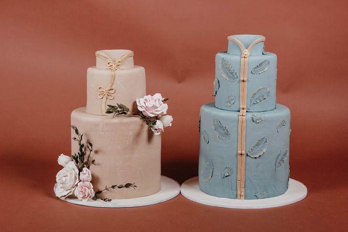 Sangjit and Engagement by Gordon Blue Cake - 021