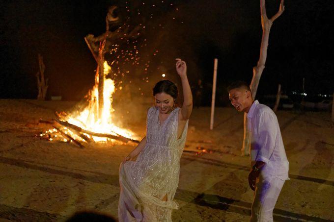Ayla Dimitri & Rama Wedding at Atlantis Beach Club by Plataran Indonesia - 038