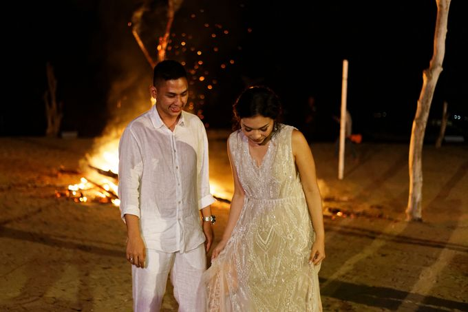 Ayla Dimitri & Rama Wedding at Atlantis Beach Club by Plataran Indonesia - 040