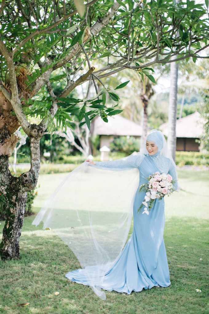 The Wedding of Novi and Rion by Kate Bridal and Couture - 005
