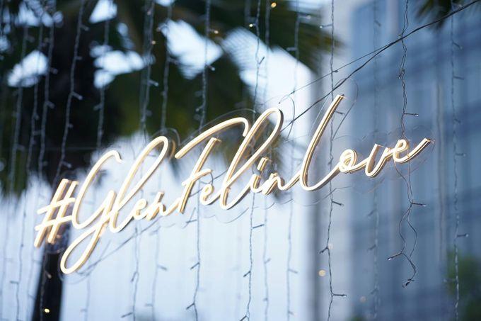 Glen & Felienda Wedding Decoration by Valentine Wedding Decoration - 021