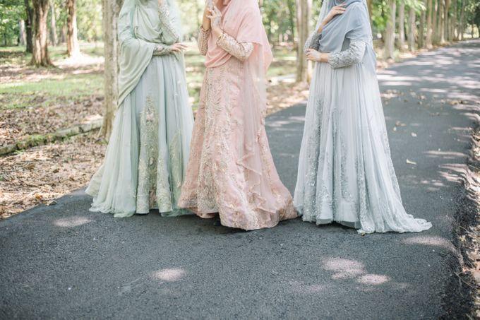 Dress Gaun Resepsi Gamis Ottoman Series by LAKSMI - Kebaya Muslimah & Islamic Bride - 007