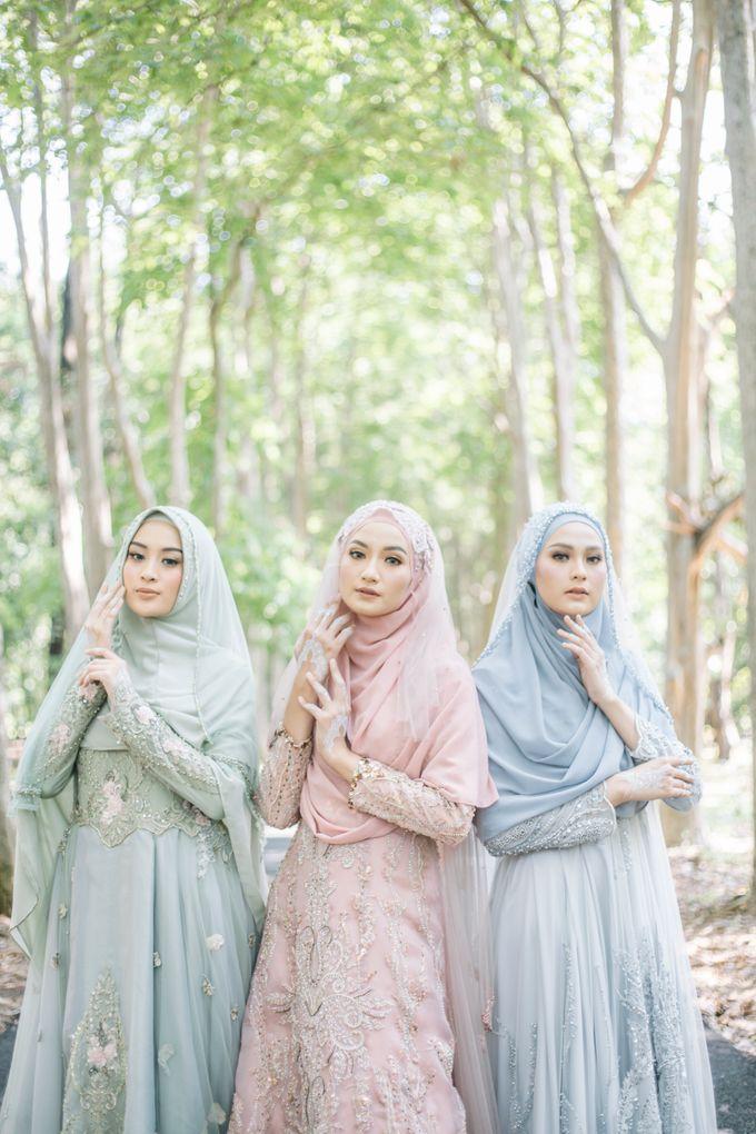 Dress Gaun Resepsi Gamis Ottoman Series by LAKSMI - Kebaya Muslimah & Islamic Bride - 002