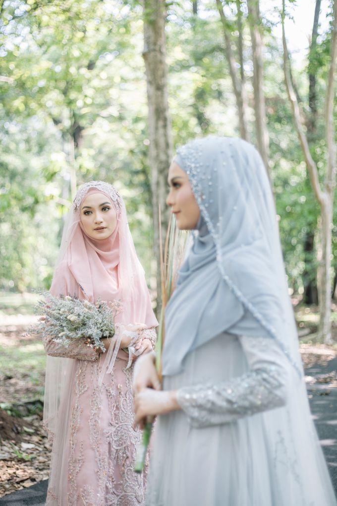 Dress Gaun Resepsi Gamis Ottoman Series by LAKSMI - Kebaya Muslimah & Islamic Bride - 001