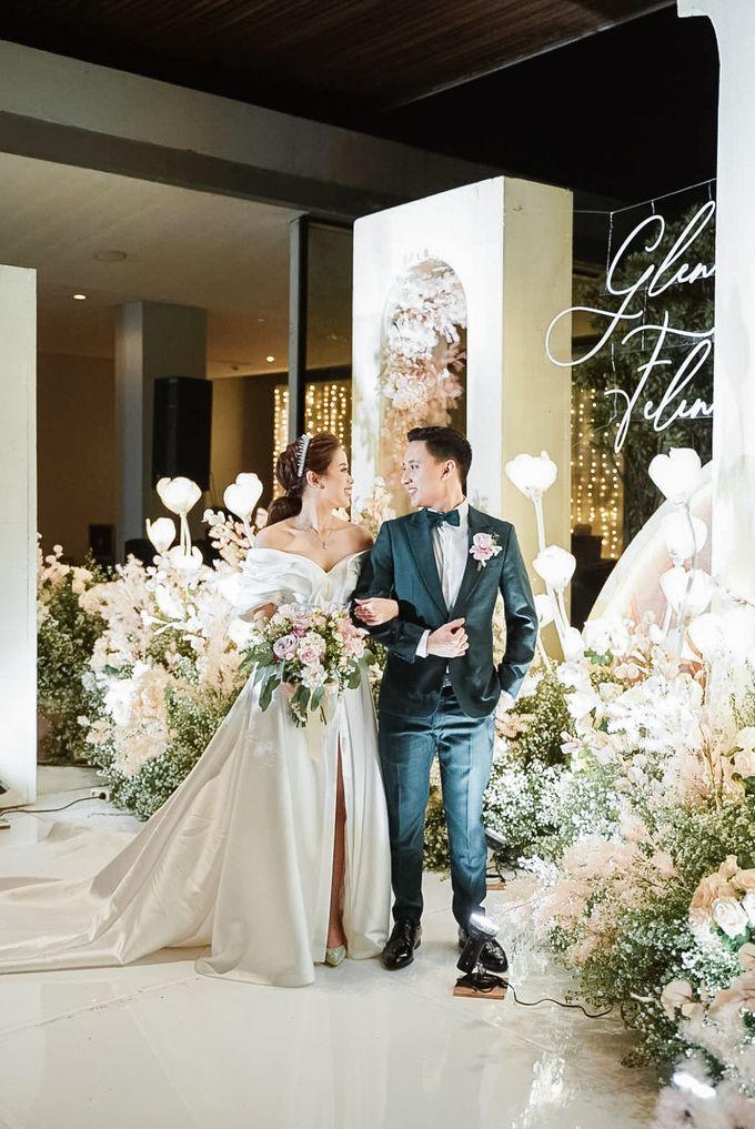 Glen & Felienda Wedding Decoration by Valentine Wedding Decoration - 019