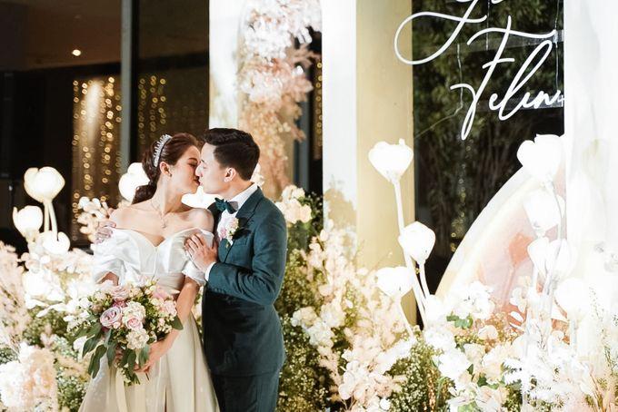 Glen & Felienda Wedding Decoration by Valentine Wedding Decoration - 017