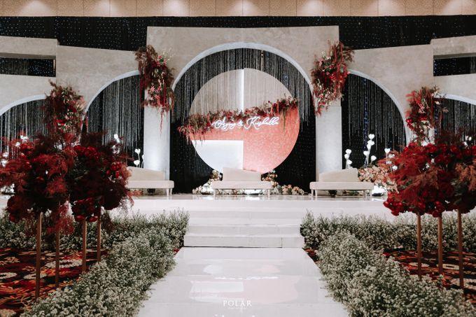 Wedding of Agung & Keyshalla at Trans Convention Center by Valentine Wedding Decoration - 010