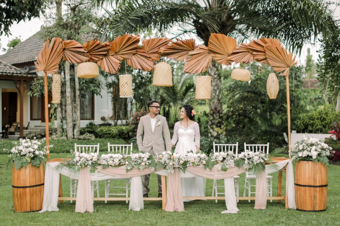 Outdoor Rustic Wedding  Atha and Rev s day by Kimus Pict - 009