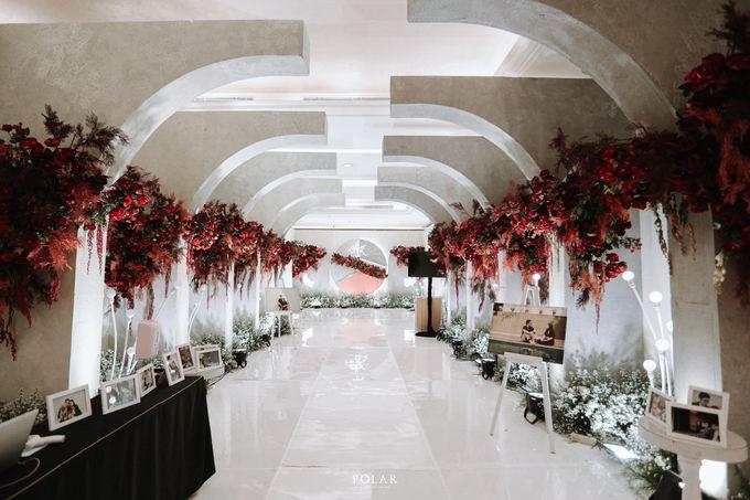 Wedding of Agung & Keyshalla at Trans Convention Center by Valentine Wedding Decoration - 011