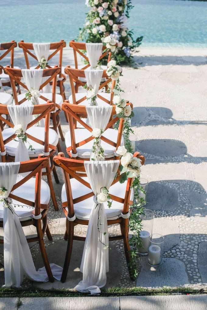 Rustic Alfresco Clifftop Wedding at Bayuh Sabbah Villa - Bali by Silverdust Decoration - 012
