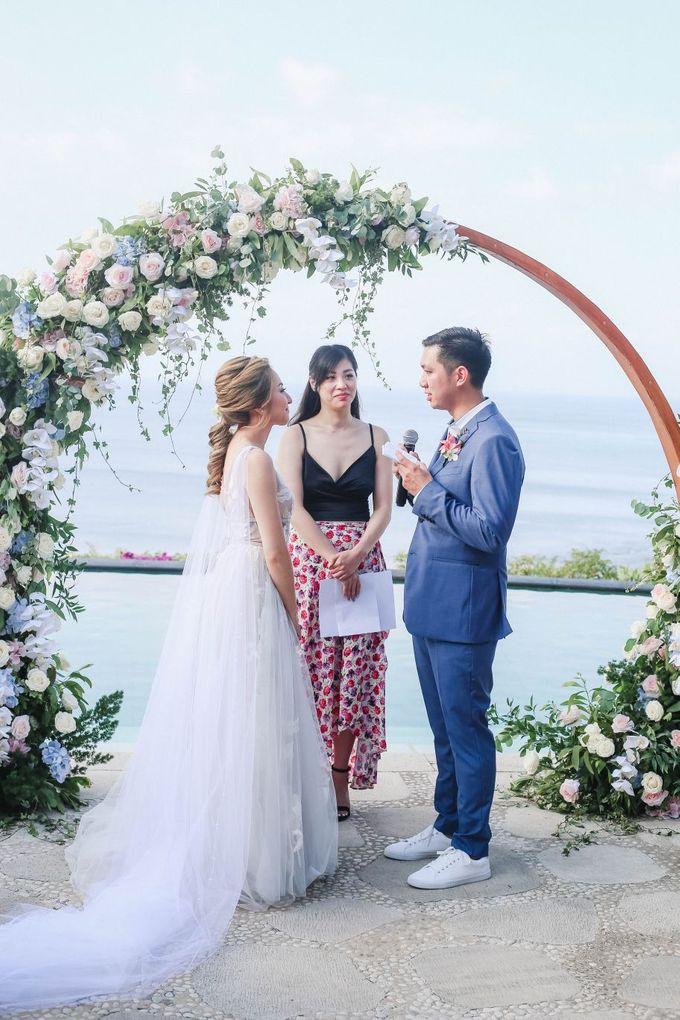 Rustic Alfresco Clifftop Wedding at Bayuh Sabbah Villa - Bali by Silverdust Decoration - 018