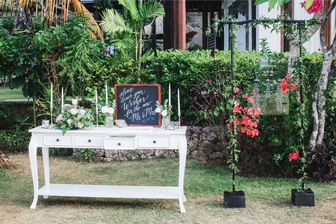 Rustic Alfresco Clifftop Wedding at Bayuh Sabbah Villa - Bali by Silverdust Decoration - 021