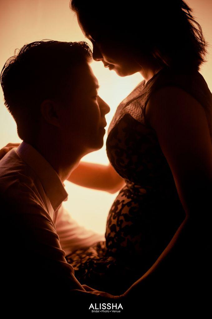 Maternity Photoshoot at Alissha by Alissha Bride - 005