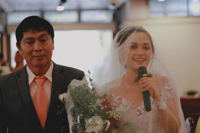 Laura dan Rusman Wedding by Ivone sulistia - 008