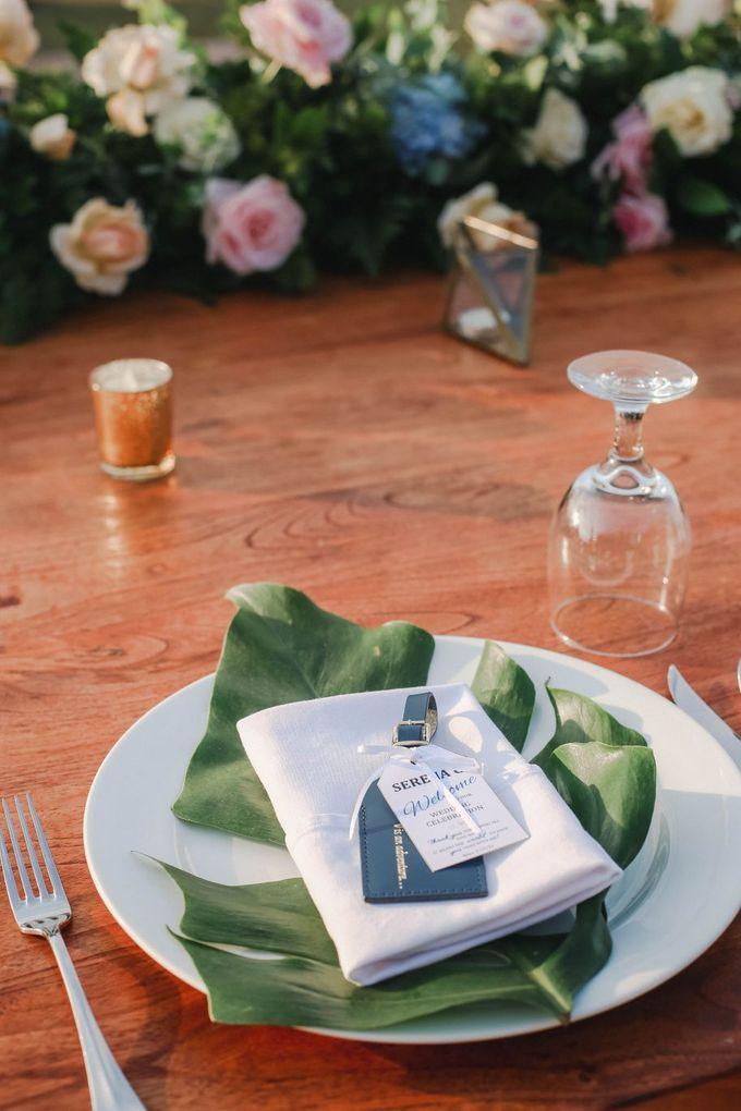 Rustic Alfresco Clifftop Wedding at Bayuh Sabbah Villa - Bali by Silverdust Decoration - 026