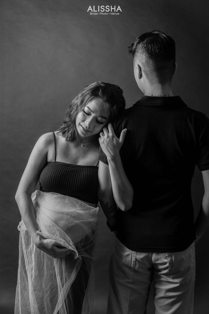 Maternity Photoshoot at Alissha by Alissha Bride - 007