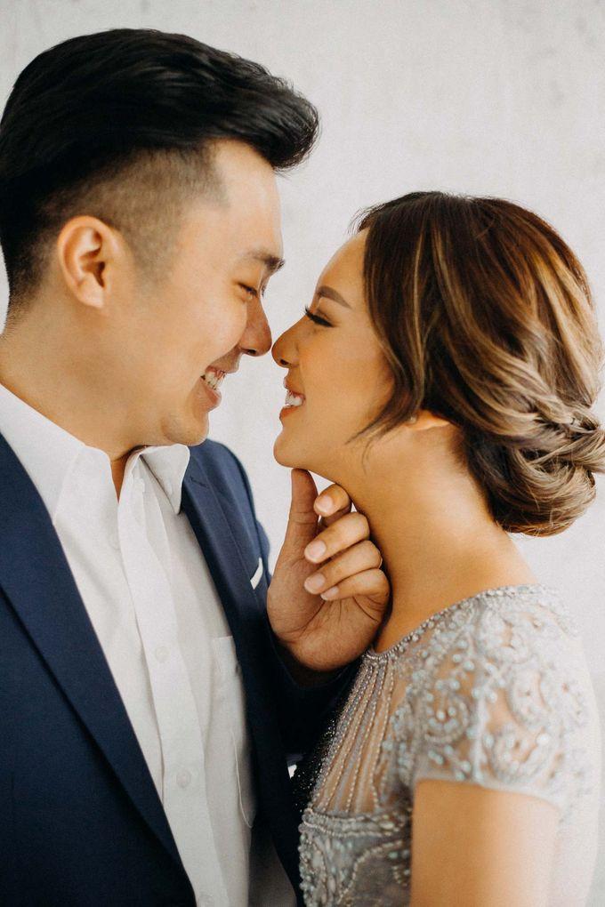 Anton & Silvy Prewedding by Kev by MA Fotografia - 007