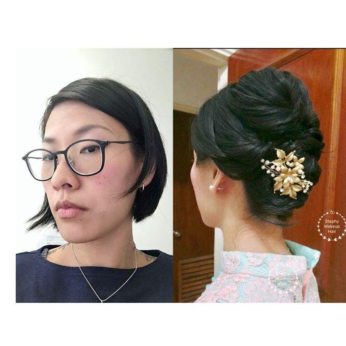 Bridal Short Hair Updos By Stephy Ng Makeup And Hair Bridestory Com