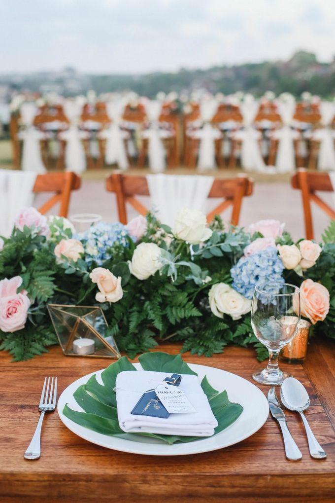 Rustic Alfresco Clifftop Wedding at Bayuh Sabbah Villa - Bali by Silverdust Decoration - 031