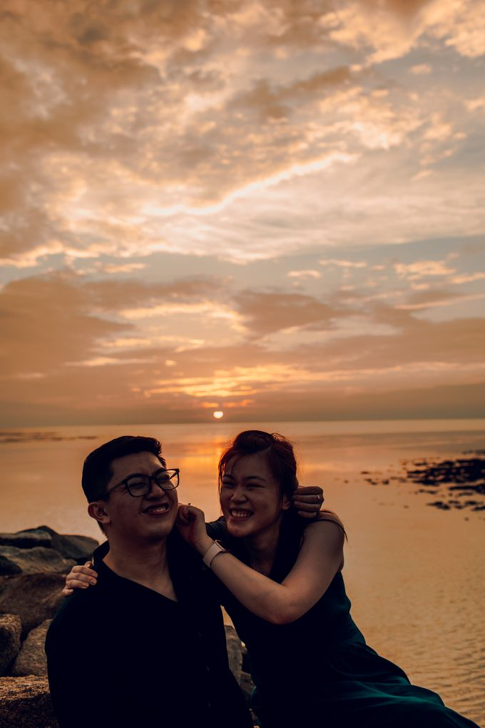 Casual engagement shoot by Amelia Soo photography - 047