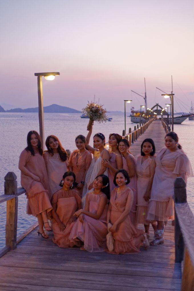 Ayla Dimitri & Rama Wedding at Plataran Komodo by Plataran Indonesia - 023