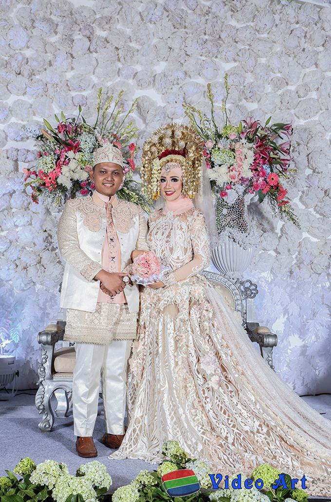 The wedding story  of Echa & Harya by Video Art - 043