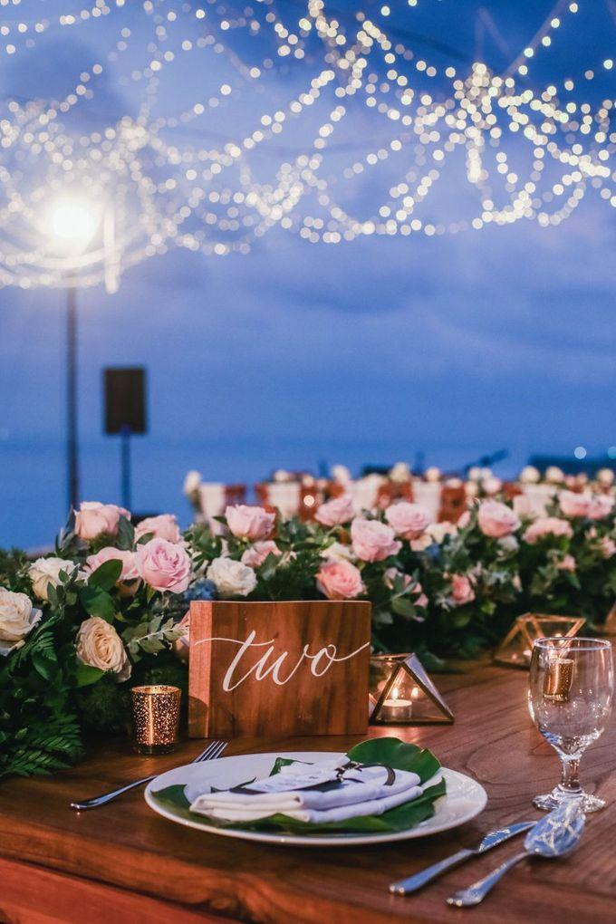 Rustic Alfresco Clifftop Wedding at Bayuh Sabbah Villa - Bali by Silverdust Decoration - 006