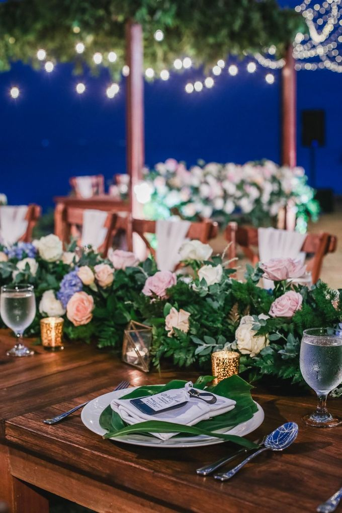 Rustic Alfresco Clifftop Wedding at Bayuh Sabbah Villa - Bali by Silverdust Decoration - 009