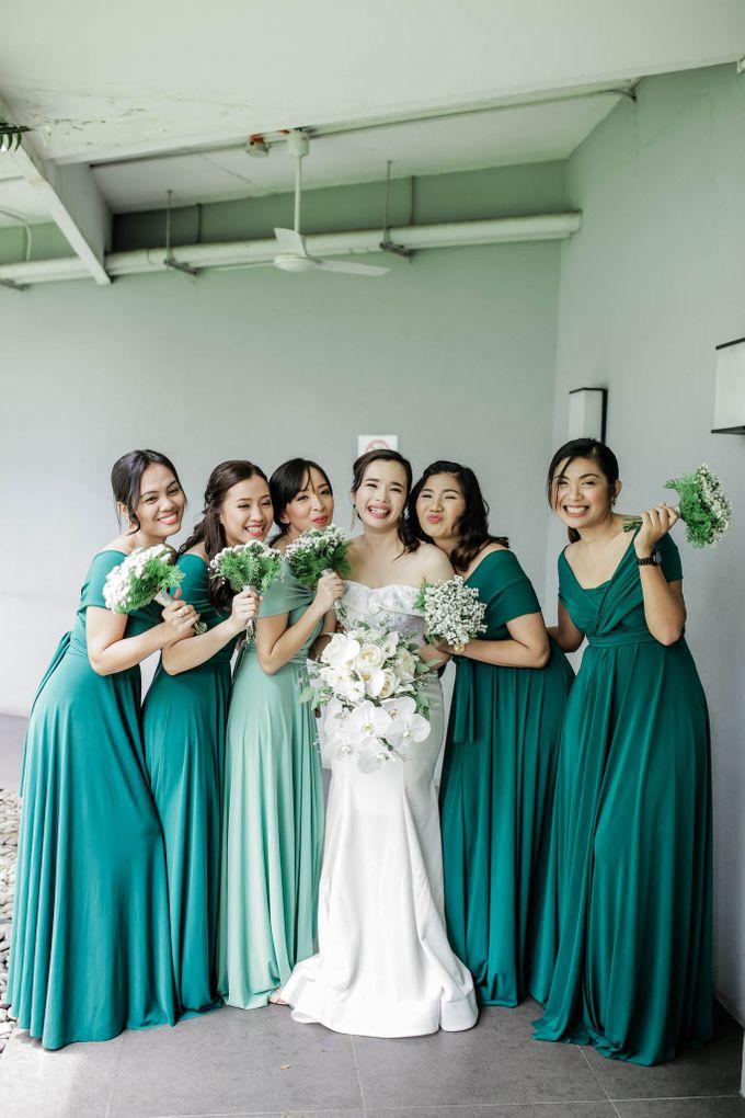 A Fresh and Modern Minimalist Iglesia Ni Cristo Wedding by Eye Candy Manila Event Styling Co. - 037