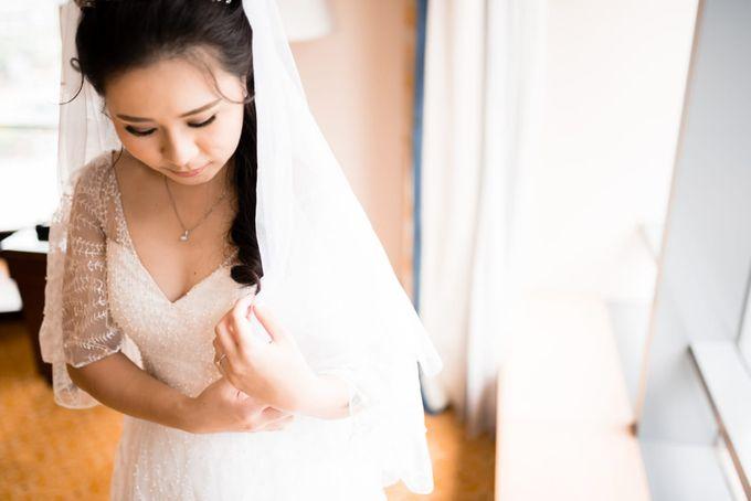 Steffi & Joshua Wedding Day by KYRIA WEDDING - 001