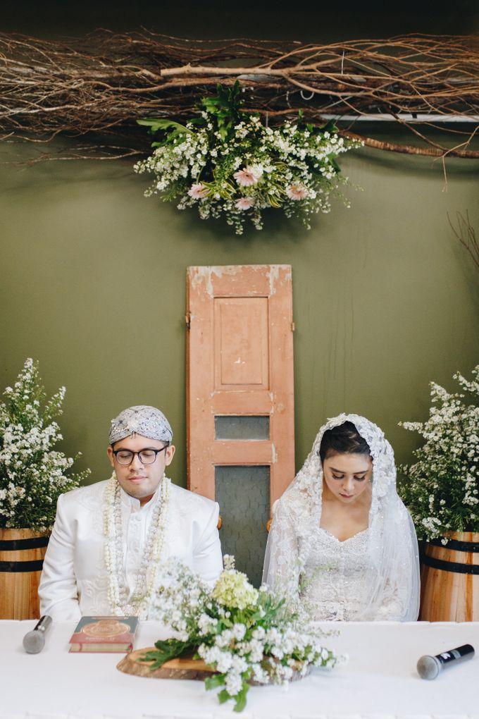 Ardhan & Dhea - Wedding by Flowr Photography - 004