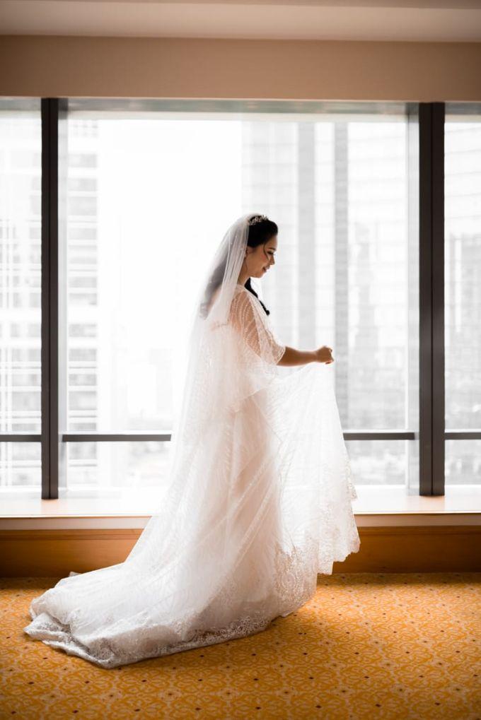 Steffi & Joshua Wedding Day by KYRIA WEDDING - 003