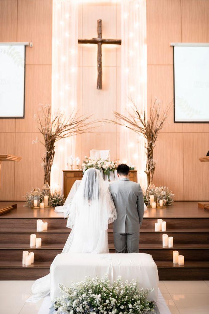Steffi & Joshua Wedding Day by KYRIA WEDDING - 004